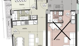 Квартира 63 m² в Салониках