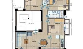 Wohnung 110 m² in Thessaloniki